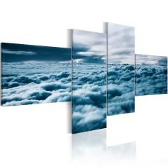 Artgeist Wandbild - Mit dem Kopf in den Wolken
