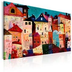 Artgeist Wandbild - Artistic City