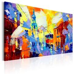 Artgeist Wandbild - Colours of the City