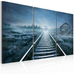 Artgeist Wandbild - A journey in the fog