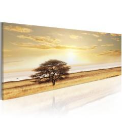 Artgeist Wandbild - Lonely tree on savannah
