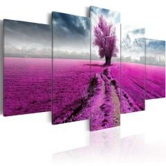 Artgeist Wandbild - Purple Land