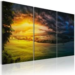 Artgeist Wandbild - Reich der aufgehenden Sonne
