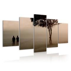 Artgeist Wandbild - Spaziergang im Nebel