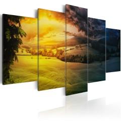 Artgeist Wandbild - Zwischen Tag und Nacht