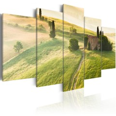 Artgeist Wandbild - Grüne Toskana