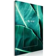 Artgeist Wandbild - Be Nice (1 Part) Vertical