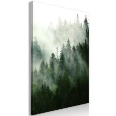 Artgeist Wandbild - Coniferous Forest (1 Part) Vertical