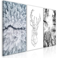 Artgeist Wandbild - Deers Life (Collection)