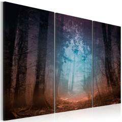 Artgeist Wandbild - Edge of the forest - triptych