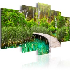 Artgeist Wandbild - Emerald Trail