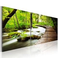 Artgeist Wandbild - Forest Brook