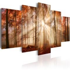Artgeist Wandbild - Forest Fog