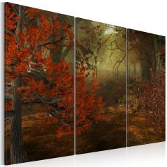 Artgeist Wandbild - Hain - Triptychon