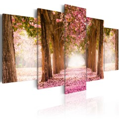 Artgeist Wandbild - Pink alley
