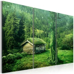 Artgeist Wandbild - Wald: Ökosystem