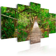 Artgeist Wandbild - Walk among the trees