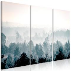 Artgeist Wandbild - Winter Forest (3 Parts)
