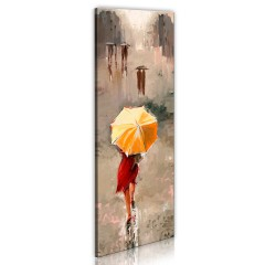 Artgeist Wandbild - Beauty in the rain