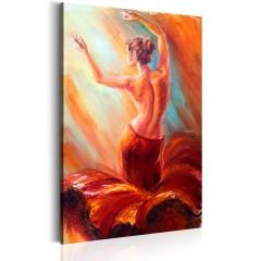 Artgeist Wandbild - Dancer of Fire