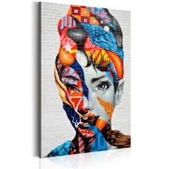 Artgeist Wandbild - Die geheime Kraft der Frau