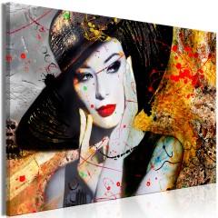 Artgeist Wandbild - Elegant Lady (1 Part) Wide