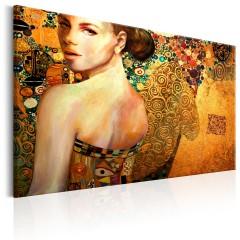 Artgeist Wandbild - Golden Lady
