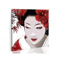 Artgeist Wandbild - Japanische Geisha