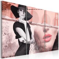 Artgeist Wandbild - Madame Chic
