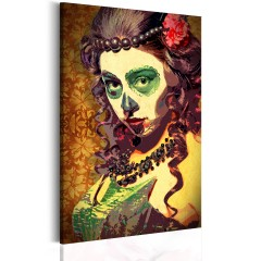 Artgeist Wandbild - Mexican Skull