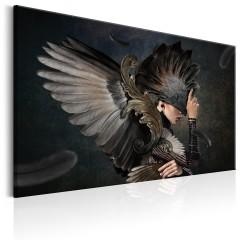 Artgeist Wandbild - Warrior Of Darkness