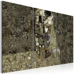 Artgeist Wandbild -  Klimt inspiration - Love