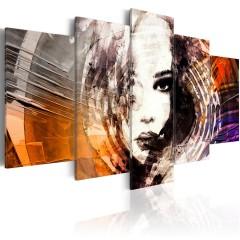 Artgeist Wandbild - Die Spirale der Geheimnisse
