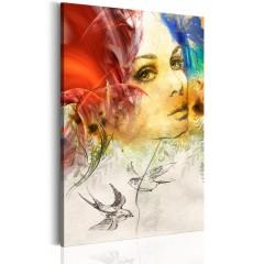 Artgeist Wandbild - Frauenporträt