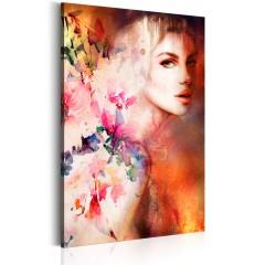 Artgeist Wandbild - Göttin der Sinnlichkeit