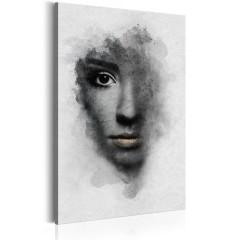 Artgeist Wandbild - Graues Porträt