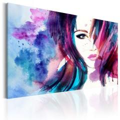Artgeist Wandbild - Watercolor Girl