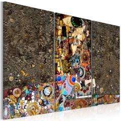 Artgeist Wandbild - Mosaic of Love