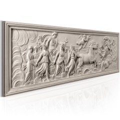 Artgeist Wandbild - Relief: Apollo and Muses