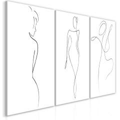 Artgeist Wandbild - Silhouettes (Collection)