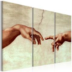 Artgeist Wandbild - Touch of God