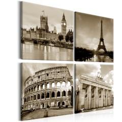 Artgeist Wandbild - European Capitals