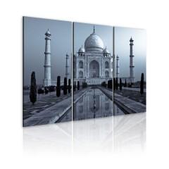 Artgeist Wandbild - Taj Mahal in der Nacht, Indien