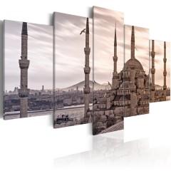 Artgeist Wandbild - Moschee im Nahen Osten