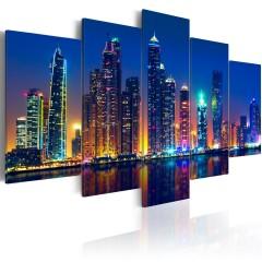 Artgeist Wandbild - Nights in Dubai