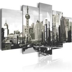 Artgeist Wandbild - Shanghai - die größte Stadt Chinas