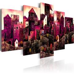 Artgeist Wandbild - Stadt der Träume