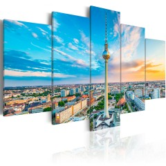 Artgeist Wandbild - Berlin TV Tower, Germany