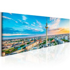 Artgeist Wandbild - Berliner Fernsehturm, Germany