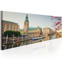 Artgeist Wandbild - Hamburg Town Hall